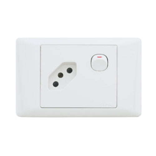 Schneider Electric  S2000 Euro Socket 100X50mm