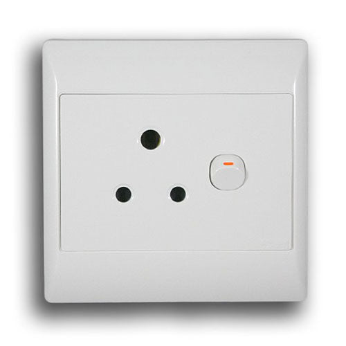 Schneider Electric  S2000 16A Switched Socket 100X100mm