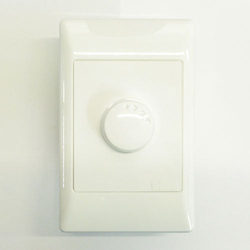 Schneider Electric  S2000 3 4A Rotary Dimmer Switch 100X50mm