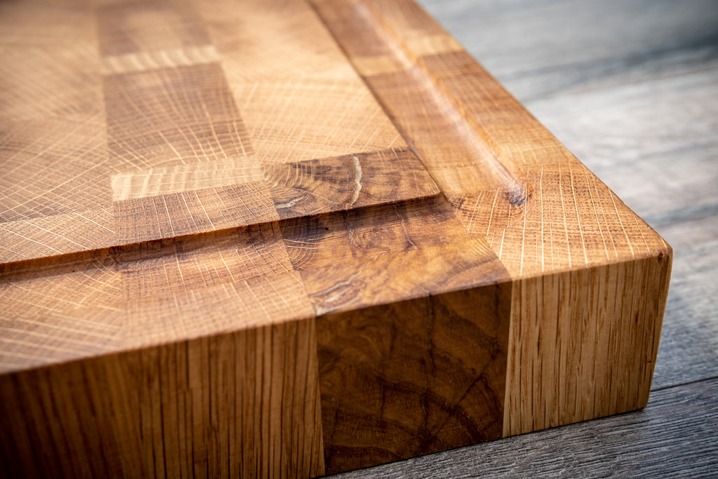 End Grain Oak Boards