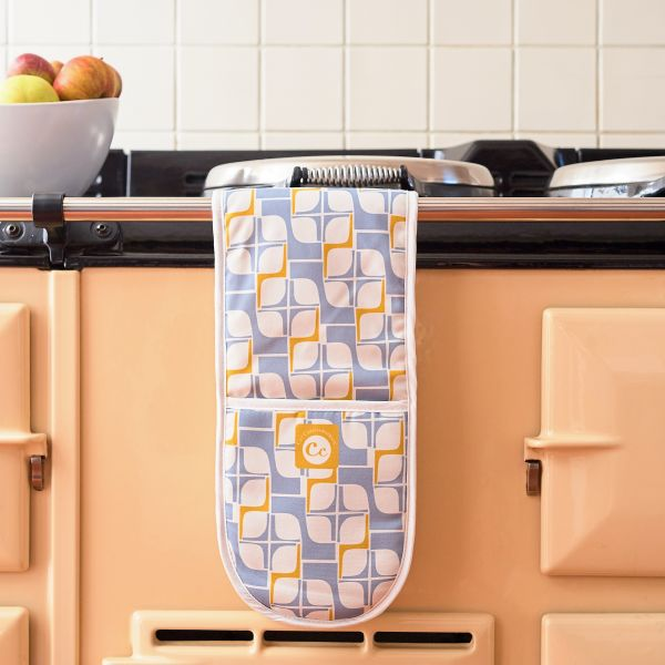 Stanton Geo Double Oven Gloves