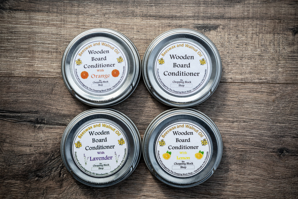 Beeswax and Walnut Oil Board Conditioner - Multi pack- Natural/Lemon/Lavender/Orange