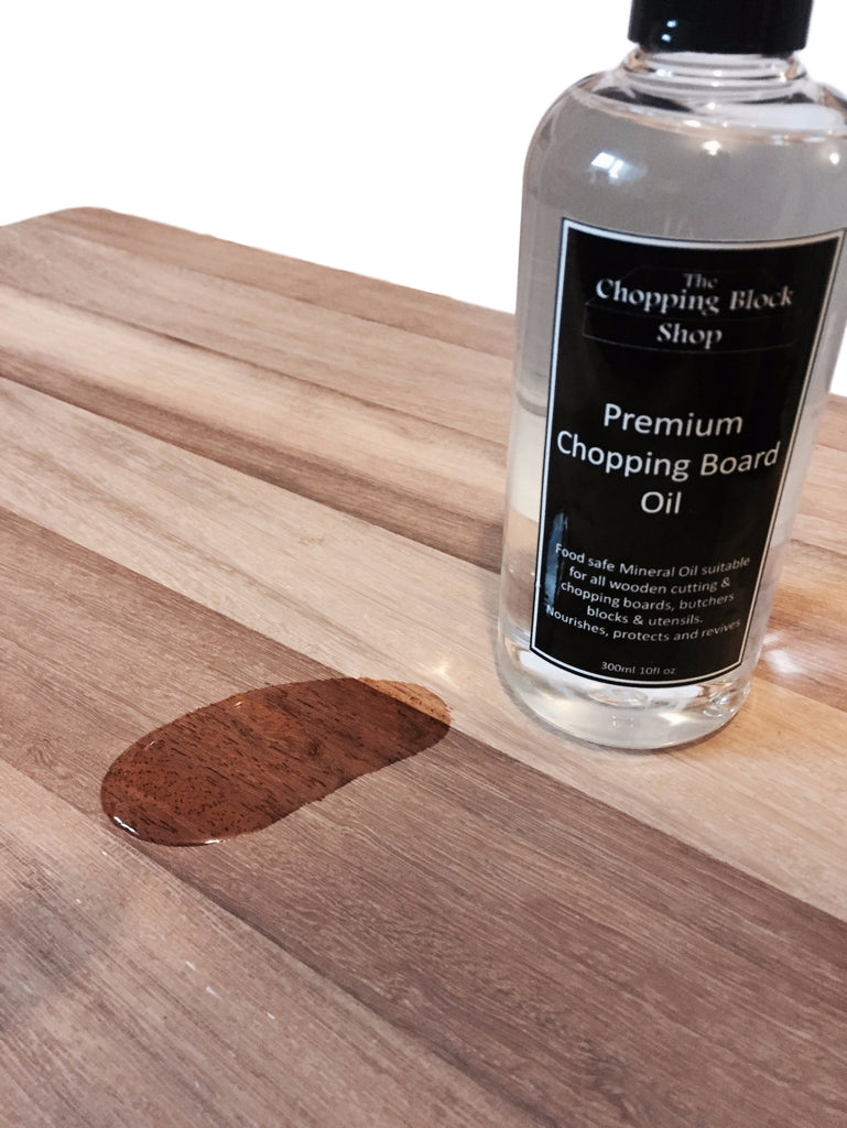 Food-Safe Mineral Oil, Wooden Board Conditioner