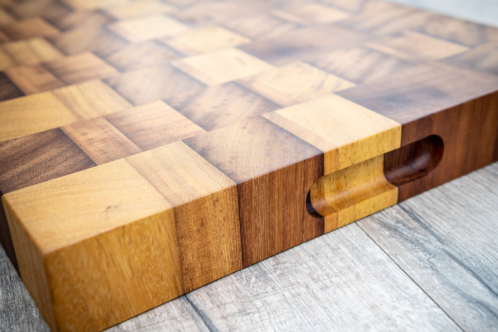 End Grain Iroko Boards