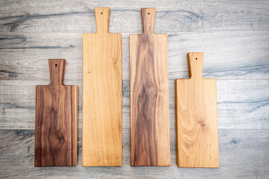 tapas serving board, wooden serving board