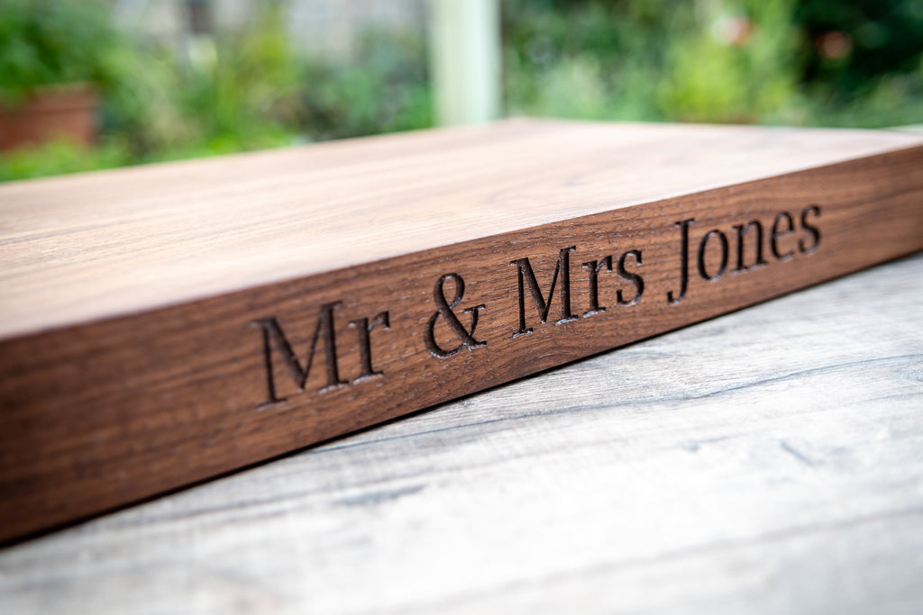engraved chopping board, engraved cutting board