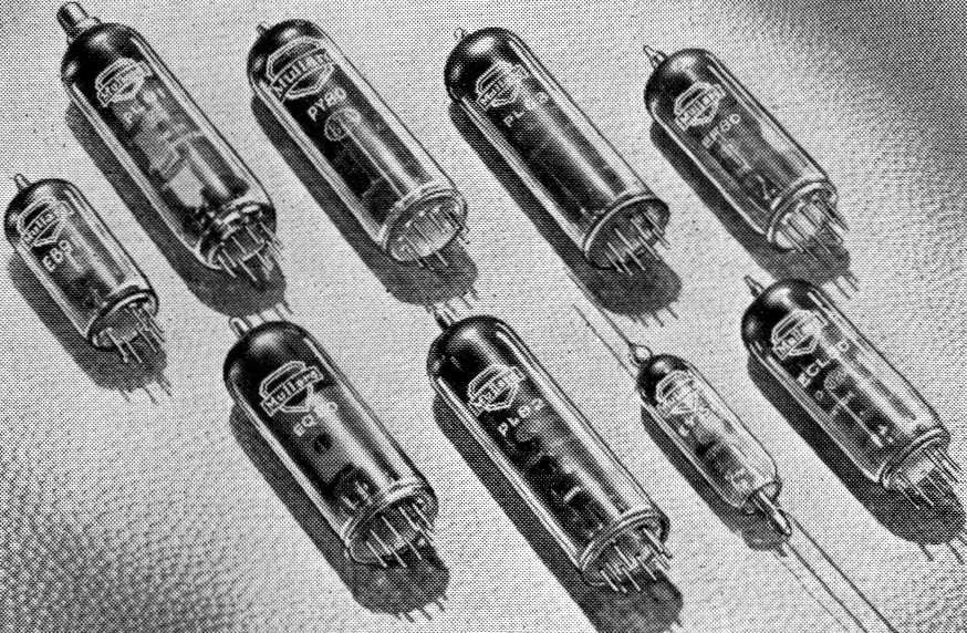 THE MULLARD WORLD SERIES OF TELEVISION VALVES
