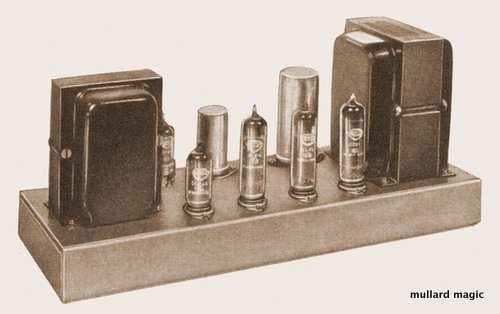 MULLARD HIGH QUALITY TEN WATT AMPLIFIER THE 5-10