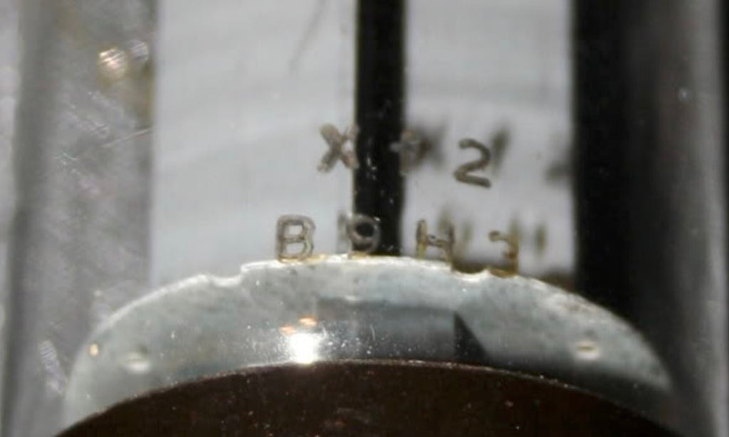 MULLARD VALVE ETCHED CODES - HOW TO INTERPRET THEM