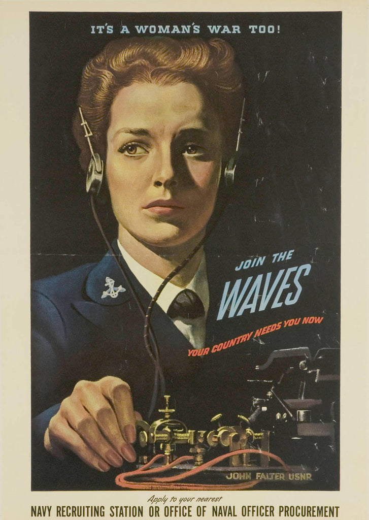 IT'S A WOMAN'S WAR TOO - JOIN THE WAVES