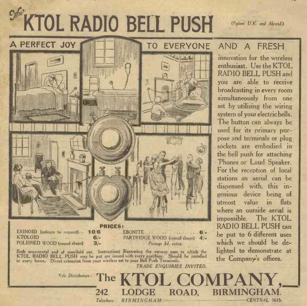 ENTERTAINMENT IN EVERY ROOM - A 1924 CONCEPT UPDATED FOR THE 21ST CENTURY!