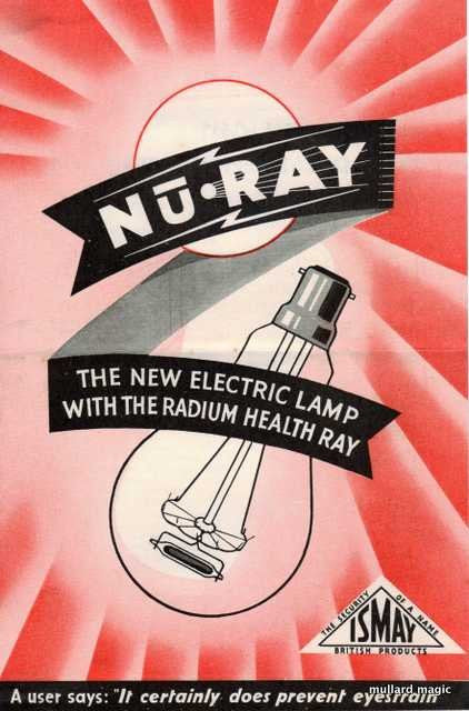 RADIUM IT'S HEALTHY STUFF - GLOW IN THE DARK OR WHAT!