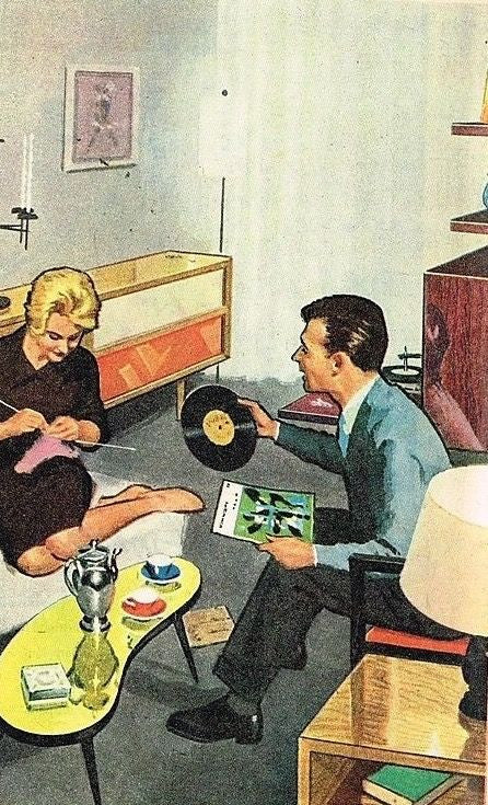 WHATEVER IS VINYL REVIVAL OR COME TO THAT A VINYL RECORD?