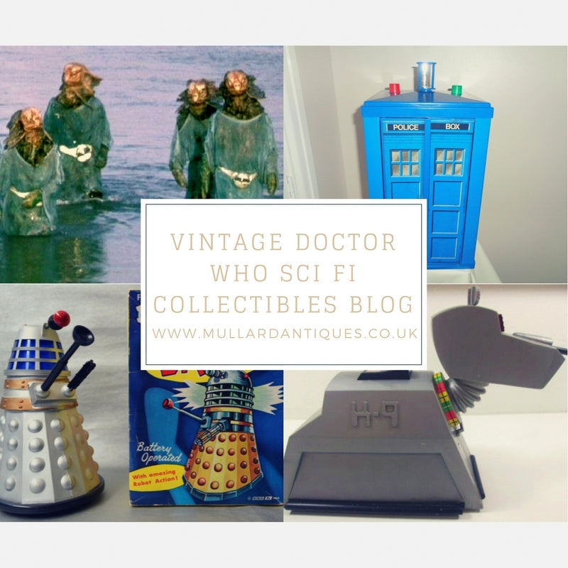 Vintage Doctor Who Sci Fi Collectibles