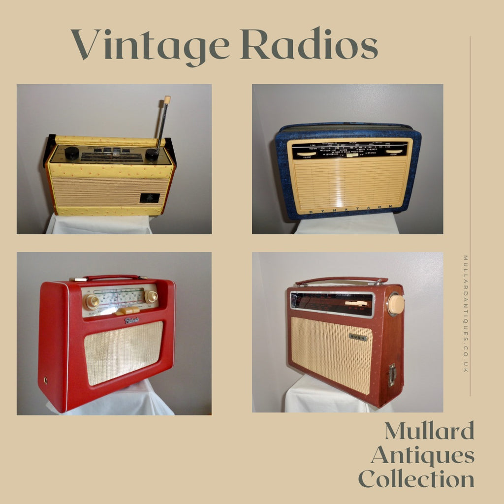Vintage Radios Available At Mullard Antiques