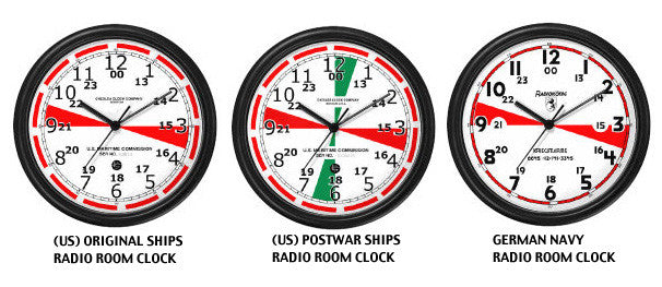 TITANIC & THE SHIP'S RADIO ROOM CLOCK