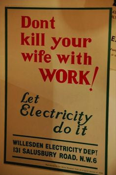 DON'T KILL YOUR WIFE WITH WORK.....