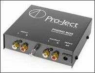 PRO-JECT PHONOBOX HEAD AMP PHONO RIAA STAGE  MM/MC OUTBOARD PSU