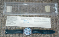 SWATCH CHRONOGRAPH ' GREENTIC' SVC100 FROM WINTER 1993 BOXED AS NEW