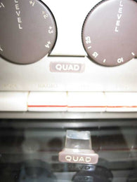 QUAD 22 PRE AMPLIFIER LIGHT PIPE QUAD BADGE - MULLARD MAGIC - 1