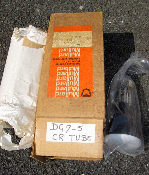 DG7-5 3 INS DIA MULLARD  ELECTROSTATICALLY FOCUSSED CRT NEW IN BOX - SCOPE CLOCK