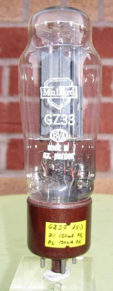 GZ33 MULLARD TALL FORM BROWN BASE
