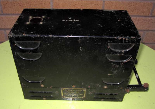 MINT CONDITION GROUND POWER UNIT 301 10K/946 FOR RAF SPITFIRE RADIO TR1196
