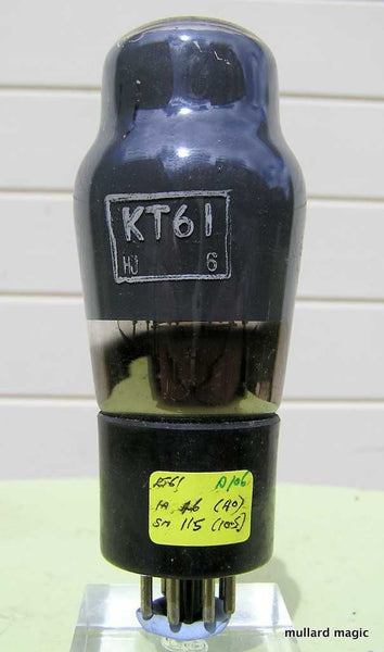 KT61 OSRAM BLACK BASE FROM NOV 1953