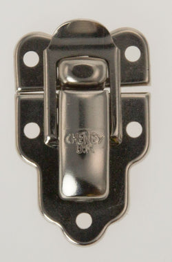 CHENEY, SHIELD CLASP, NICKEL FINISH , 3333, SC3, SIZE 45 X 30mm, AS USED DANSETTE, ROBERTS, COSSOR