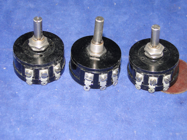 COLVERN, CLR, 3W, 10000 OHMS, 10K0, WIRE WOUND POTENTIOMETERS, VINTAGE NOS