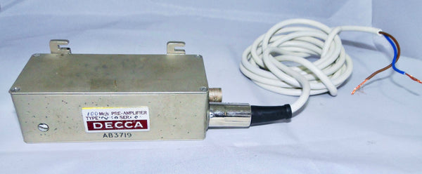DECCA 100MHZ PREAMPLIFIER C/W POWER LEAD
