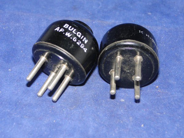 BRITISH 4 PIN, B4, PLUG, BULGIN, APW6294, 10H/2113