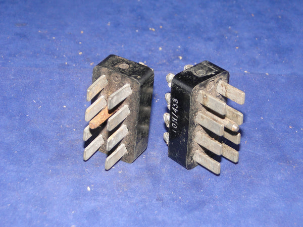 10H/398, 8 Pin, Male, Jones Plug, Chassis Mount, For, T1154, R1155, R1481, R1132,  RF UNITS 24, 25, 26, 27, POWER UNITS 32, 33, 34, 35,