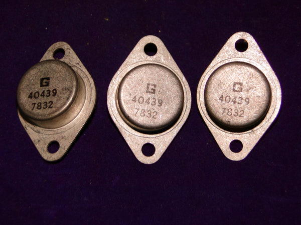 40438, TRANSISTOR, GERMANIUM, PNP