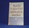 MULLARD, VALVE  & SERVICE REFERENCE MANUAL, ,  1951, 2ND EDITION, SPIRAL BOUND BOOK