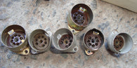 BROWN MICANOL MCMURDO B7G VALVE BASES  EX EQUIPT - MULLARD MAGIC
