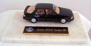 SOMERVILLE SAAB 9000 TURBO 16 No122 1985 FOR SWEDISH EMBASIES & SAAB DEALERSHIPS