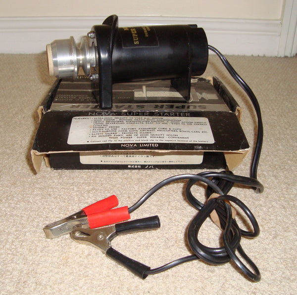 Nova Limited Super Starter 12 Volt D.C Motor High Power Engine Starter
