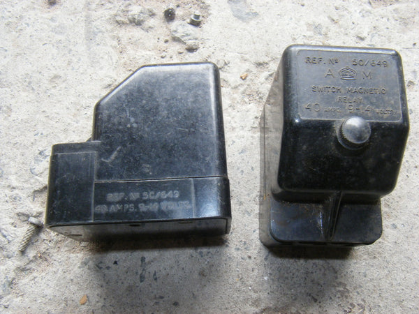 5c/649 AIR MINISTRY MAGNETO RELAY 40A 9-14V - MULLARD MAGIC