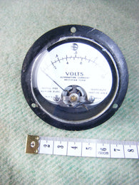MARION INSTRUMENT, MODEL HS2, 10000 OHMS/VOLT, MOVING COIL METER, SCALED AT 1VAC - MULLARD MAGIC - 1