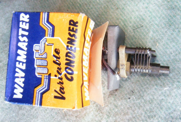 WAVEMASTER 0.035uF TRIMMER CAPACITOR, BOXED - MULLARD MAGIC