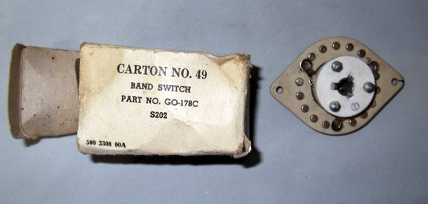 WW2 CERAMIC BANDSWITCH GO-178C