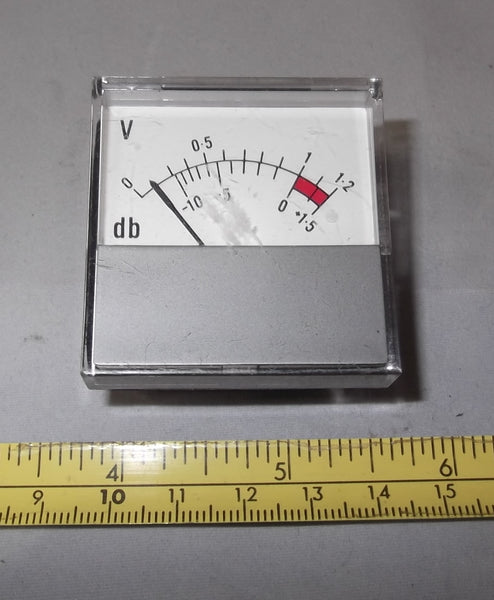HONEYWELL METER MS1  FSD 50uA DC  43 x 43mm FACE AS USED IN SOME BEECHCRAFT AIRCRAFT