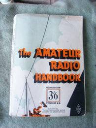 RSGB AMATEUR RADIO HANDBOOK, 2ND EDITION 11TH PRINTING, FROM 1944 - MULLARD MAGIC - 1