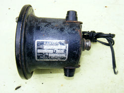 KLAXON KLAXET INDUSTRIAL SIGNAL HORN 1950S 240VAC 50HZ - MULLARD MAGIC - 1