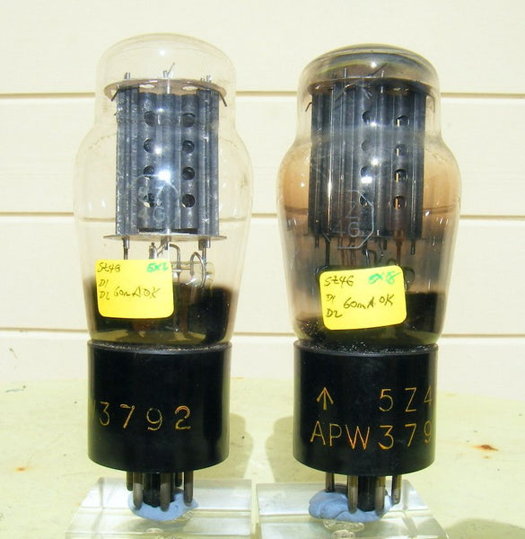 5Z4G APW3792 BRIMAR MATCHED PAIR