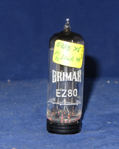 EZ80, BRIMAR, WHITE PRINT, FOOTSCRAY, OCT 1964 PRODUCTION