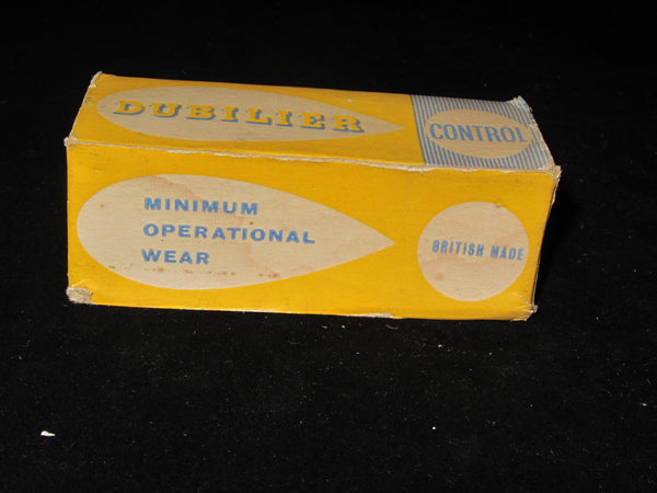 DUBILIER, MINIMUM OPERATIONAL WEAR, 1950S POTENTIOMETER, VARIOUS