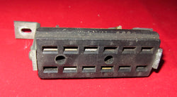 12 PIN FEMALE , JONES SOCKET, CHASSIS MOUNT,