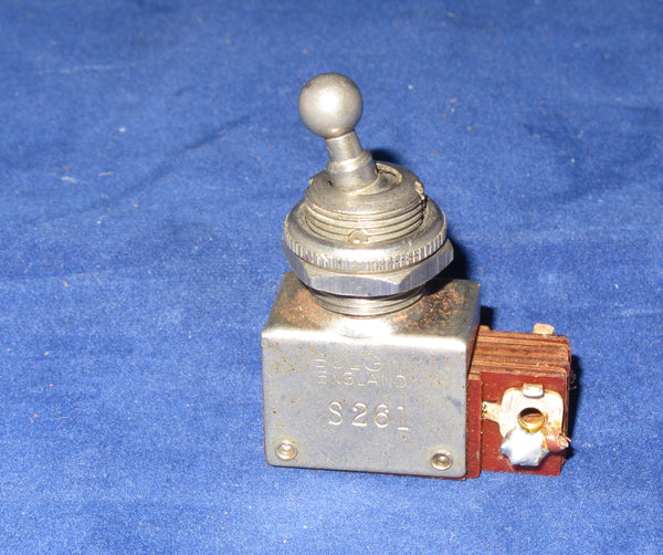 BULGIN, BALL DOLLY, SPST, S261 VINTAGE SWITCH